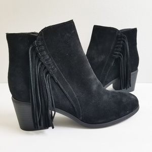 NEW Kenneth Cole Reaction Fringe Booties